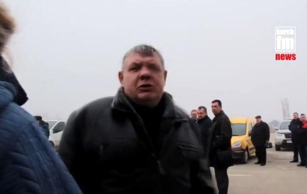 С керченской переправы прогнали журналистов