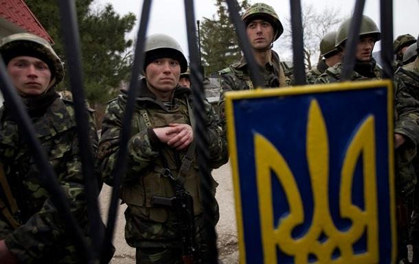 Украинские военные в Крыму верны присяге Украине – и.о. минобороны