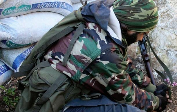 На границе Сирии и Турции произошла перестрелка между правительственными войсками и боевиками