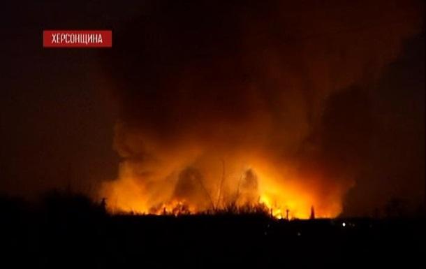 Взрыв на границе Херсонской области и Крыма: погиб украинский военный