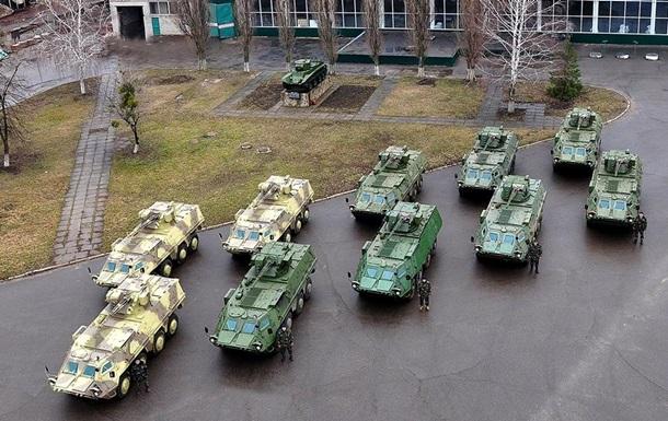 Аваков показал новые БТР для Нацгвардии Украины