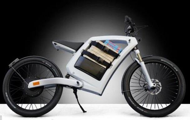 Немцы создали новый хит для города: электроцикл с багажником под рамой