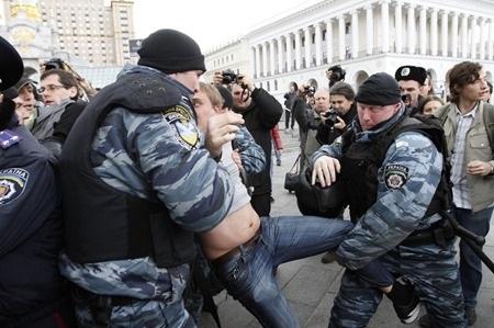 Обиженный Майдан. Часть 1. Беркут и власть