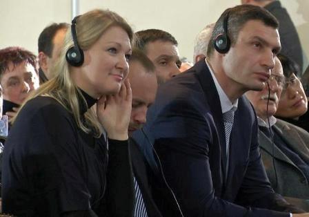 Анна Чапман партії «УДАР»