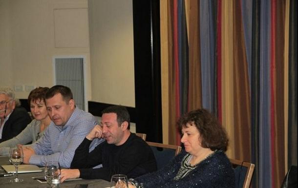 Пресс-конферренция Геннадия Корбана и Бориса Филатова в Тель-Авиве