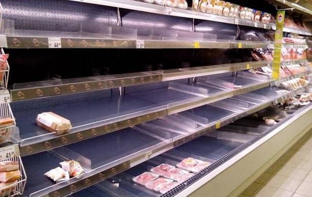 Мониторинг одного из киевских супермаркетов: очереди и хаос