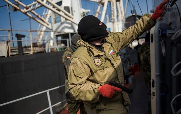 На тральщик Черкассы высадили десант, идет перестрелка - Крым_SOS