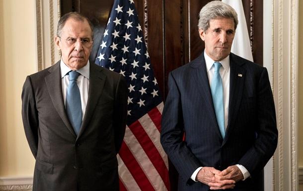 В Госдепартаменте США сообщили о содержании разговора между Керри и Лавровым