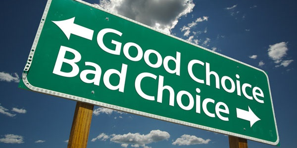There are no bad or good choices