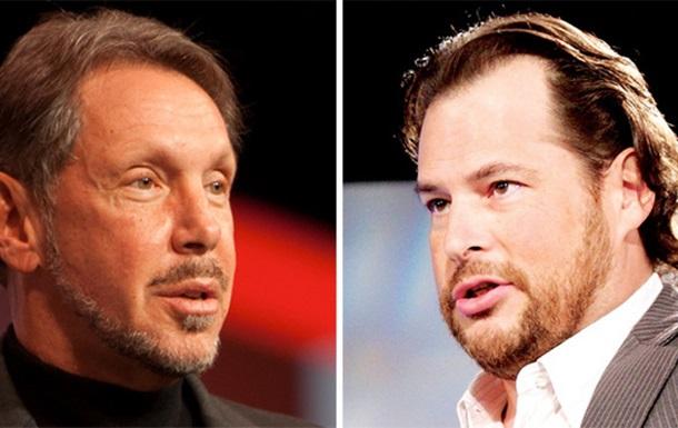 Oracle и Salesforce.com подписали  договор о взаимном развитии технологий