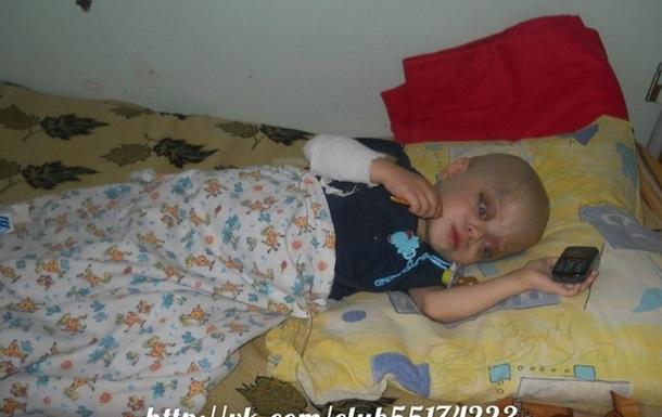 В Полтаве ребенка врачи усыпляют морфином 3 й день!!!!!