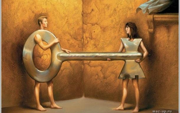 Жінка як деструктивна основа конструкцій чоловіка.