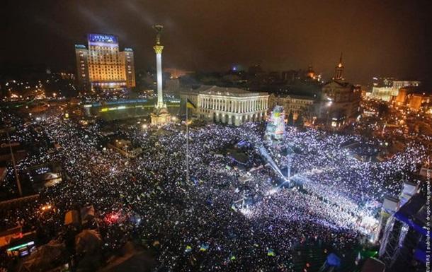 Герой  беспорядков в Украине