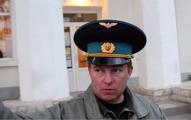 Украинского командира Мамчура везут из Крыма в Киев