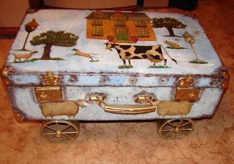И чемодан с барахлом вдогонку