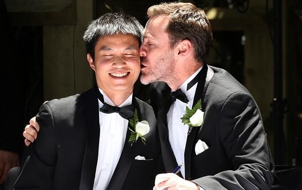 В Англии и Уэльсе вступил в силу закон о легализации однополых браков