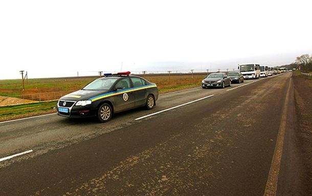 Бойцов внутренних войск вывели из Крыма