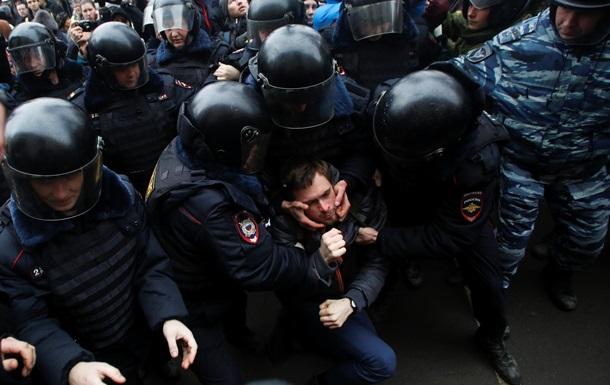 В Москве задержали трех участников одиночных пикетов в память о Небесной сотне