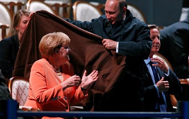 Переговоры Путина с Меркель по Украине прошли  на вес золота  - Песков
