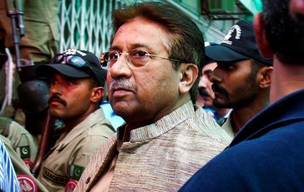Экс-президента Пакистана Мушаррафа официально обвинили в госизмене