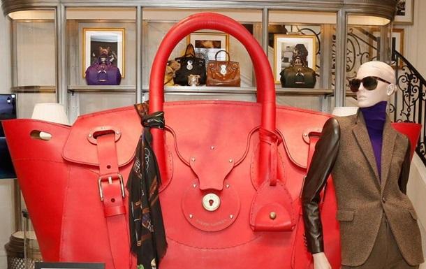 Ralph Lauren создал женскую сумку в человеческий рост