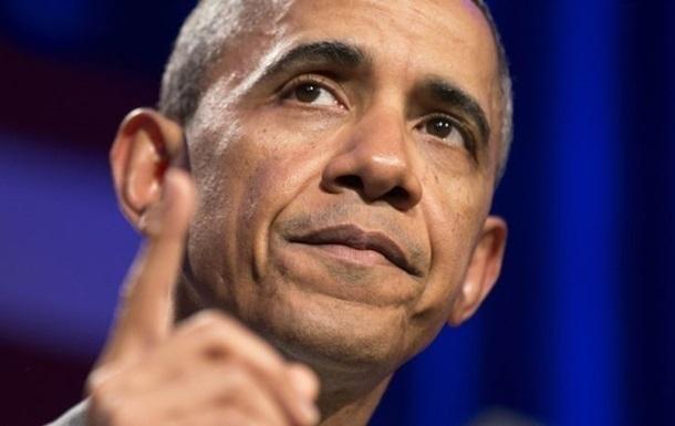 Обама официально поприветствовал принятие конгрессом США законопроекта по Украине