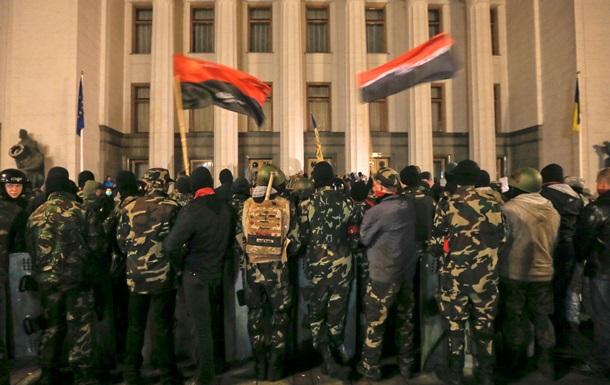 В киевском Правом секторе пообещали выполнить решение Рады по разоружению
