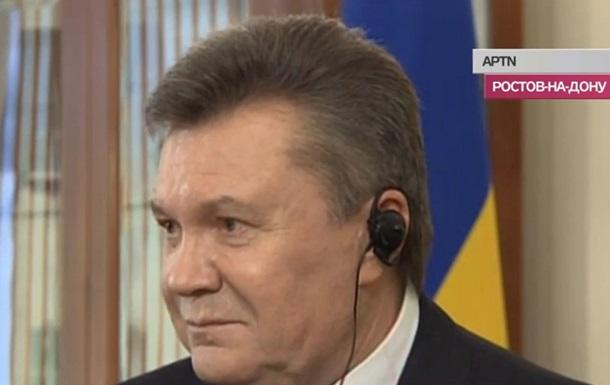 Янукович дал интервью журналистам Associated Press