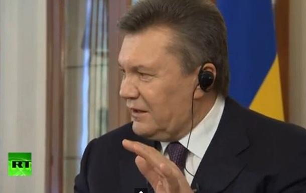 Янукович: У меня есть информаторы в новом правительстве Украины