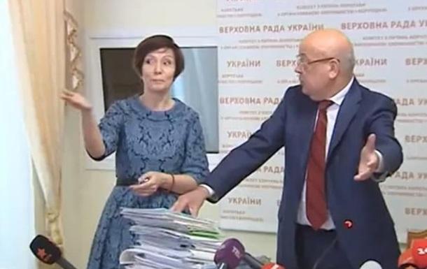 Олена Бондаренко поскандалила з Москалем: Я не буду з ним битися