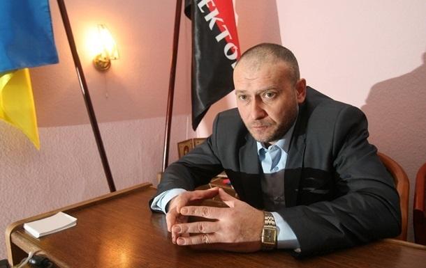 Ярош одолжил средства на избирательную кампанию в кассе партии