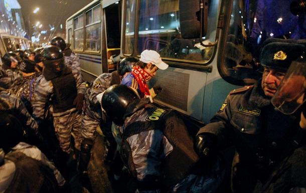 Митингующих в России стали реже сажать, но чаще штрафовать