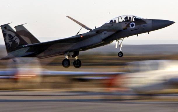 Военные самолеты Израиля нанесли удар по базам ХАМАСа