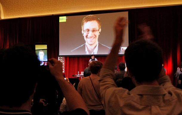 Эдвард Сноуден принял участие в съезде Amnesty International