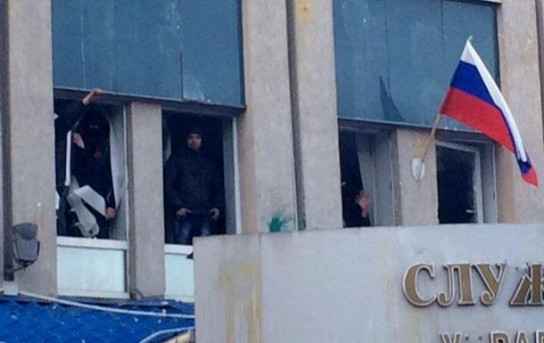В Луганске сотрудники СБУ освободили шесть пророссийских активистов