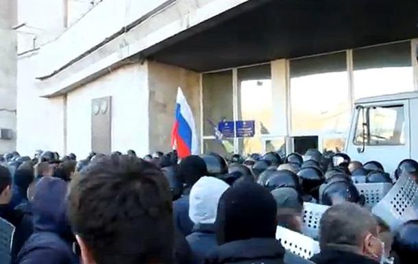 Как в Донецке захватывали областную администрацию