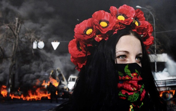 Женщины Майдана. Открытие фотовыставки в Киеве
