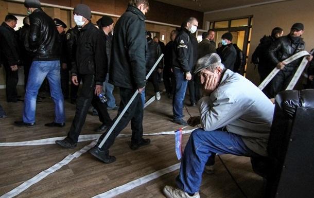 В здании СБУ в Луганске отключили воду и свет