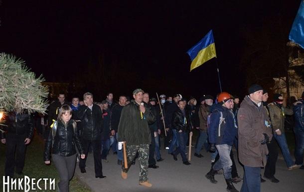В Николаеве задержаны 23 участника массовых акций