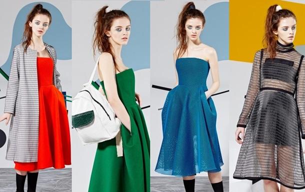 Украинский дизайнер Яся Миночкина представила лукбук новой осенне-зимней коллекции