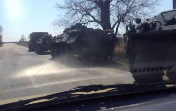 У Луганськ ввели військову техніку - ЗМІ