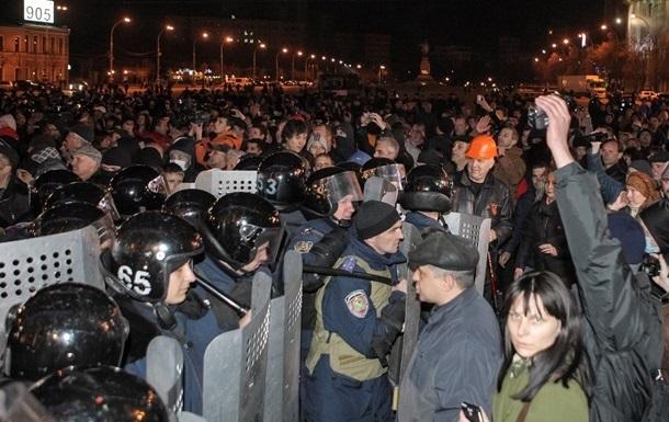 Среди задержанных участников беспорядков в Харькове - 14 ранее осужденных