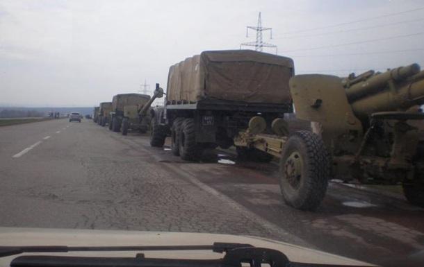 Под Донецком замечена военная техника