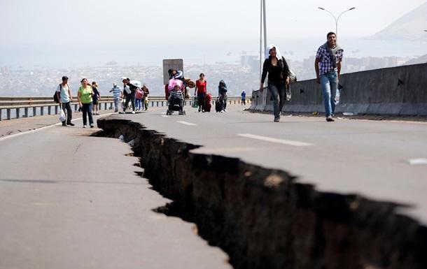 В Чили произошло землетрясение магнитудой 6,0