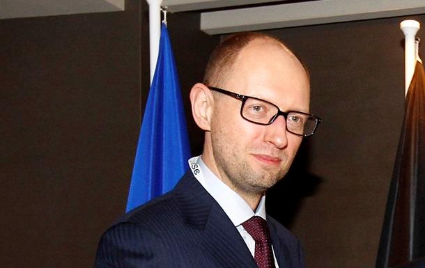 Яценюк 11 апреля проведет теледиалог с востоком