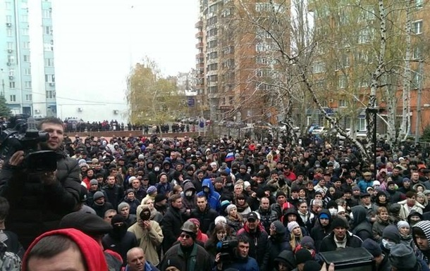 Милицию Донецкой области временно возглавил Аносов