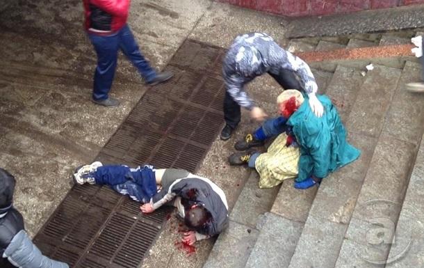 В Харькове столкновения, есть раненые