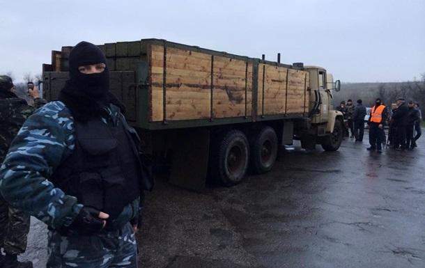 Ополченцы Славянска задержали машину с боекомплектом для  Града