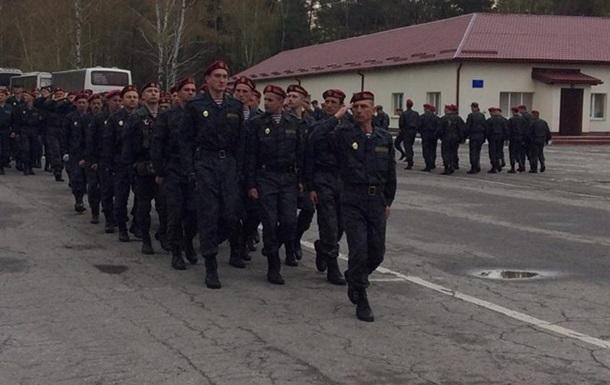 Первый батальон Нацгвардии отбыл на передовую – Парубий