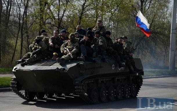 В Краматорск вошли БТРы с российскими флагами – СМИ